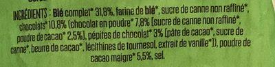 Pétales O Choc - Ingrédients
