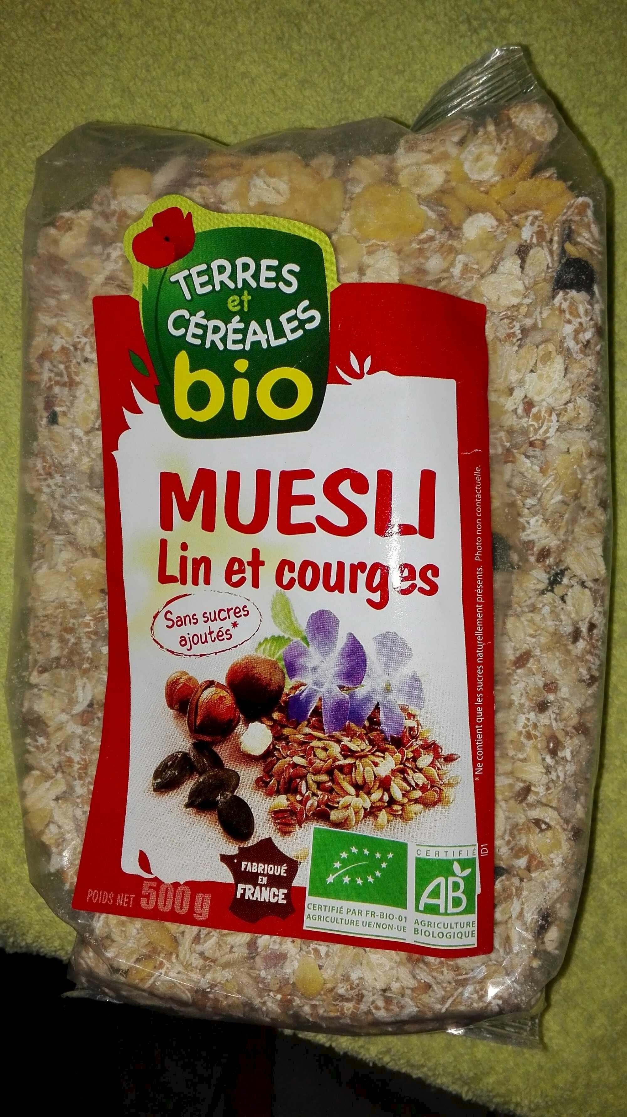 Muesli Lin et Courges - Product