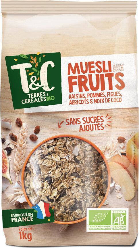 Muesli aux fruits 1kg - Produit - fr