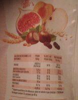 Muesli aux fruits 1kg - Informations nutritionnelles - fr