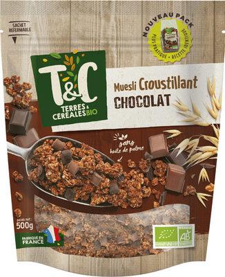 Muesli croustillant chocolat 500 g - Prodotto - fr