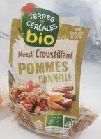 Muesli croustillant pommes canelle - Producto - fr