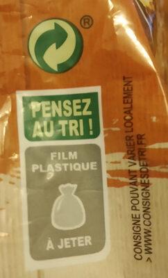 Muesli croustillant duo pépite - Istruzioni per il riciclaggio e/o informazioni sull'imballaggio - fr