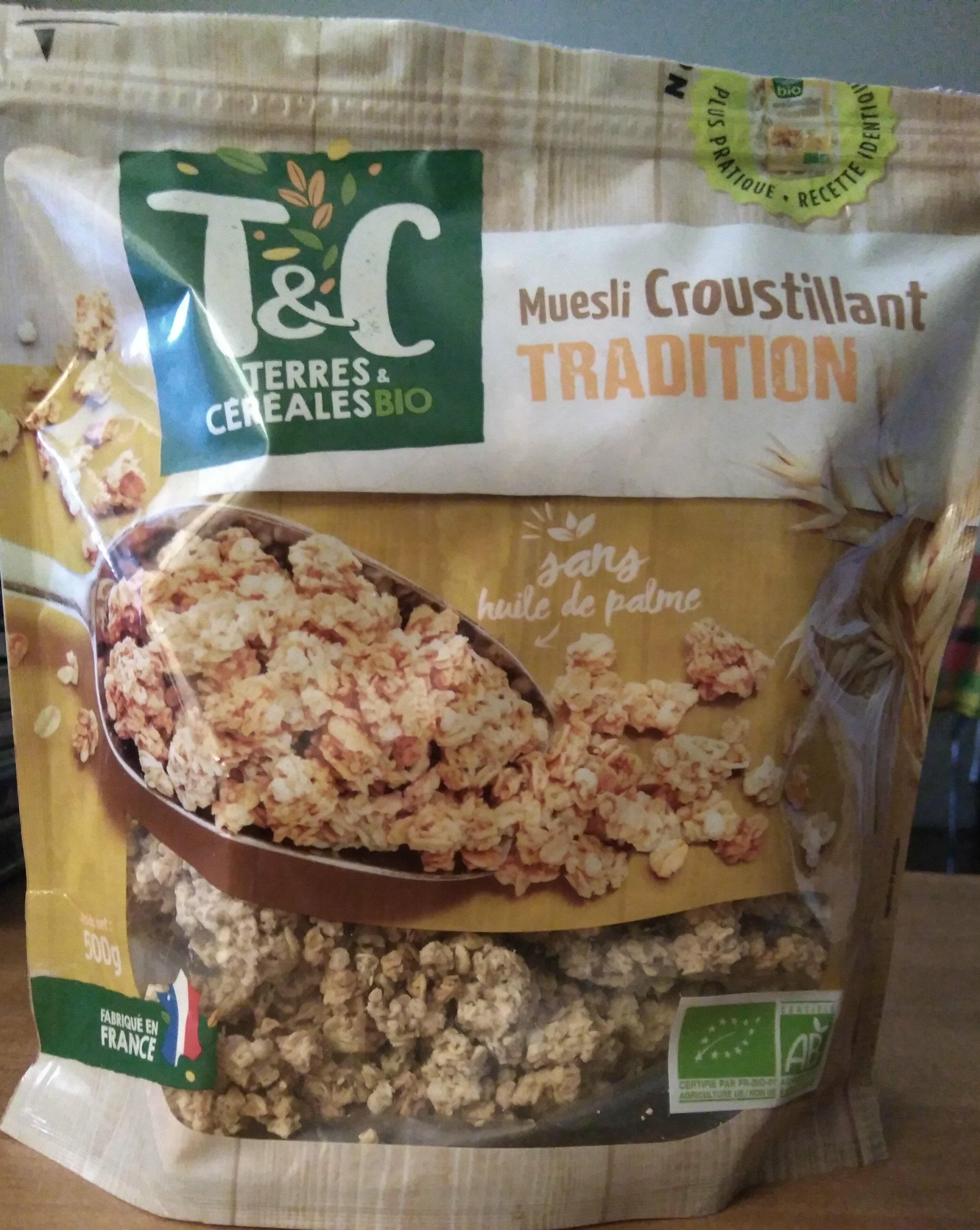 Muesli croustillant tradition - Product