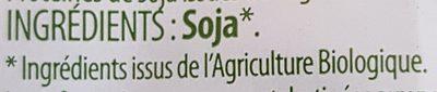 Protéines de Soja Émincées - Ingrédients - fr