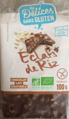 Chocolait Lait Eclats De Riz - Produit - fr