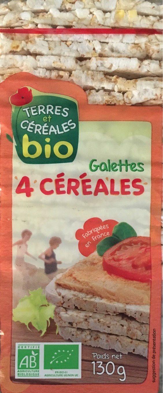 Galettes aux 4 Céréales - Produit
