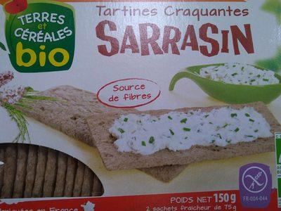 Tartines Craquantes Sarrasin - Produit - fr