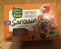 Tartines craquantes au sarrasin - Informations nutritionnelles - fr