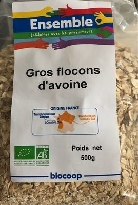 Gros Flocons d'avoine - Product - fr