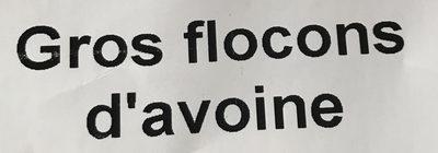 Gros Flocons d'avoine - Ingrediënten - fr