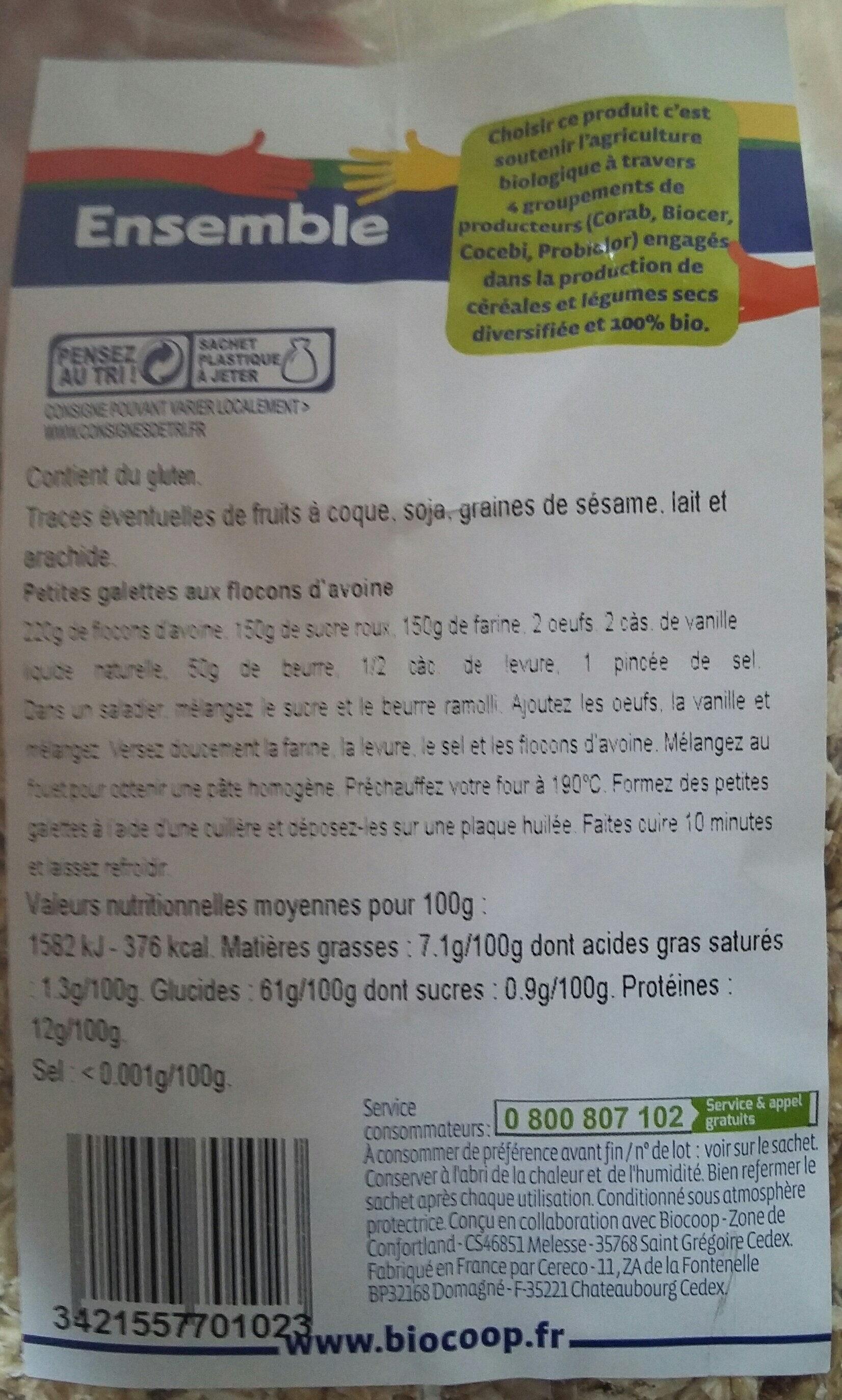Gros Flocons d'avoine - Voedingswaarden - fr