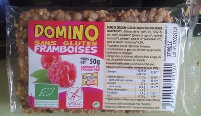 Domino Framboise - Produit - fr