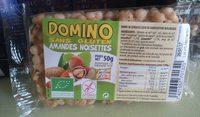 Domino Amandes Noisettes - Produit