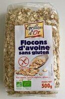 Flocons d'avoine sans gluten - Produit - fr