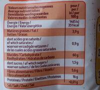 Flocons de sarrasin sans gluten - Nutrition facts - fr