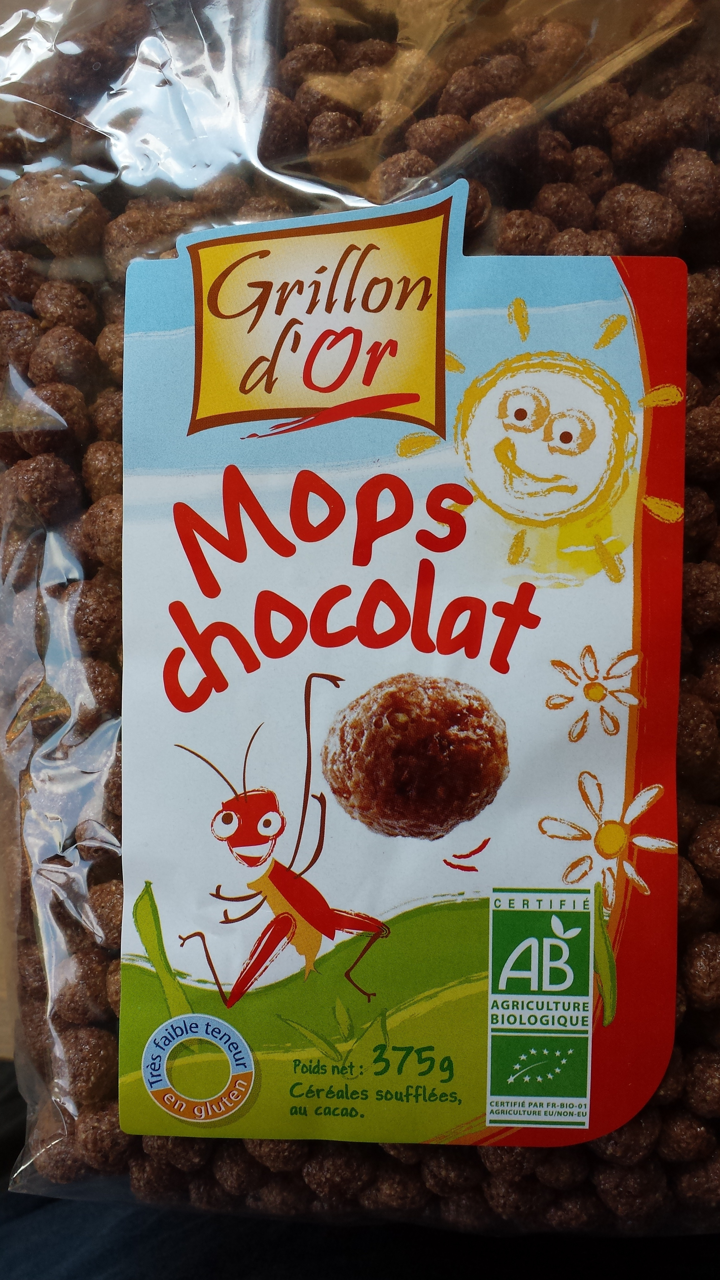 Mops Chocolat - Product