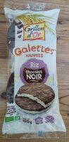 Galettes de riz chocolat noir - Produit - fr