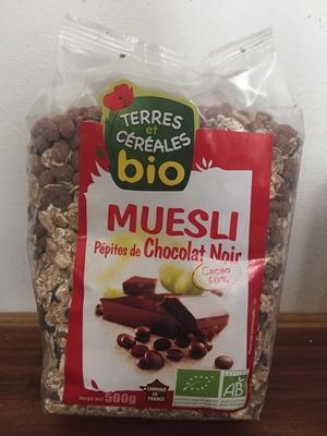 Muesli pépites de chocolat noir - Produit - fr
