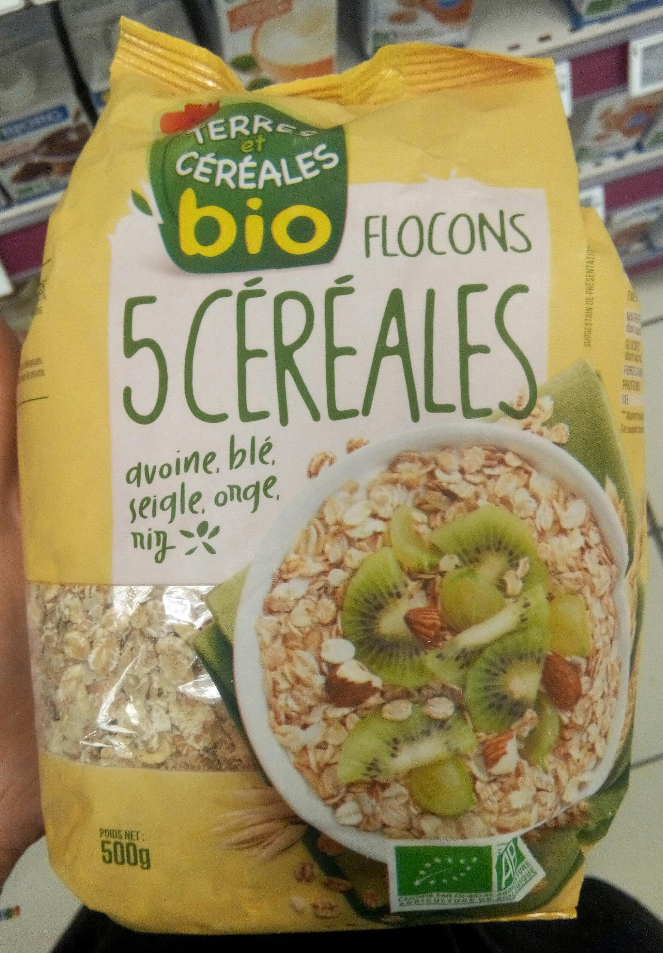 Flocons 5 céréales - Produit - fr