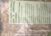 Flocons d'avoine Complets - Ingredients