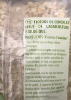 Flocons d'avoine Complets - Ingredients - fr