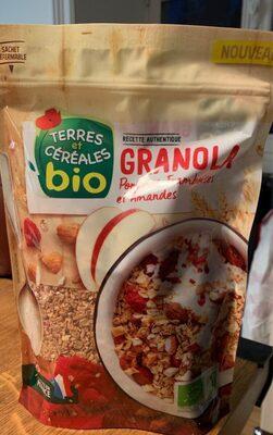 Granola pommes framboises amandes - Product