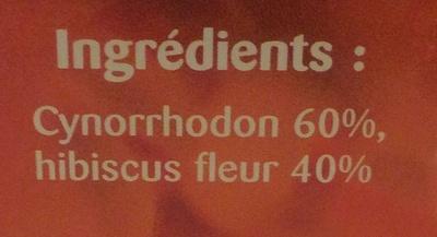 Cynorrhodon, hibiscus - Ingredienti - fr