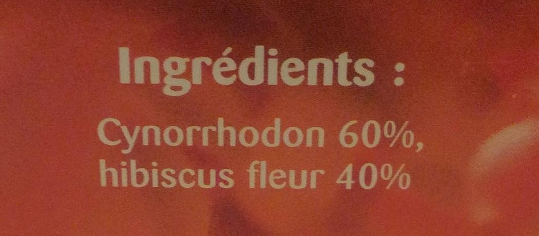 Cynorrhodon, hibiscus - Valori nutrizionali - fr
