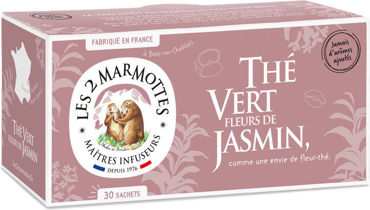 Thé vert fleurs de Jasmin - Prodotto - fr