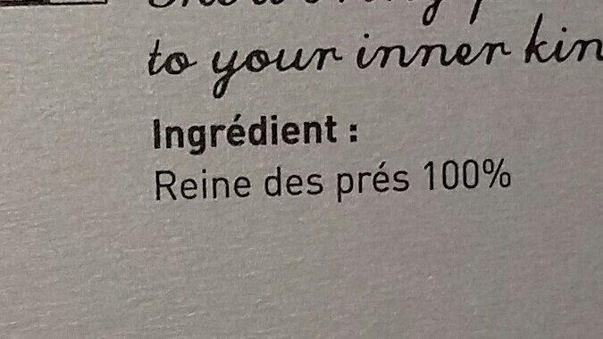 Reine des Prés - Ingredienti - fr