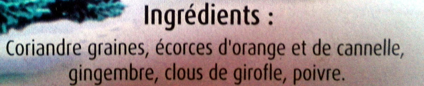 Préparation pour Vin Chaud - Ingrediënten - fr