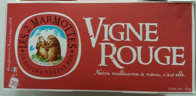 Vigne rouge - Product