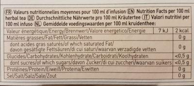 Boost et moi - Valori nutrizionali - fr