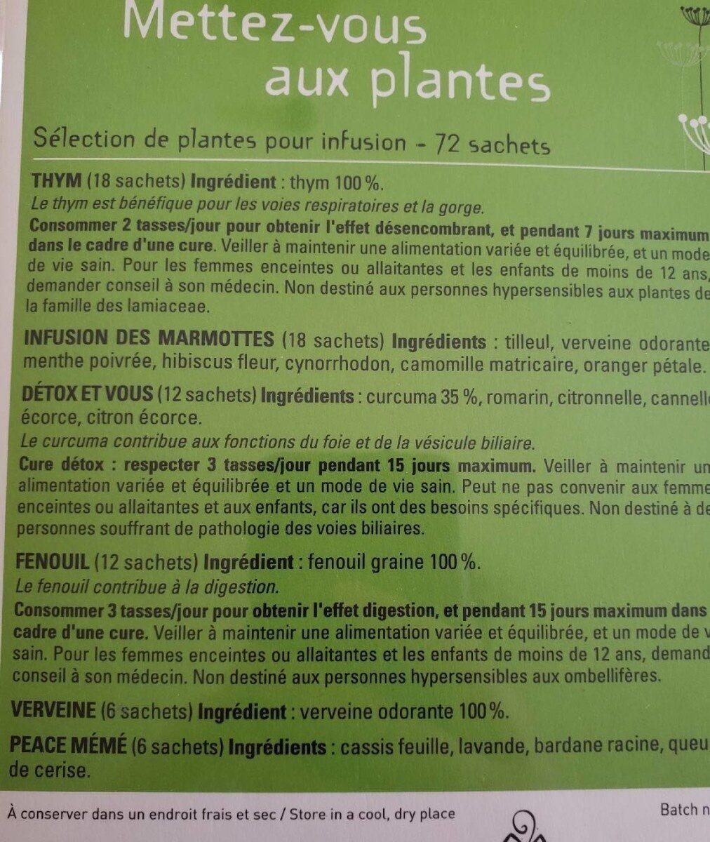 Les 2 marmottes - Valori nutrizionali - fr