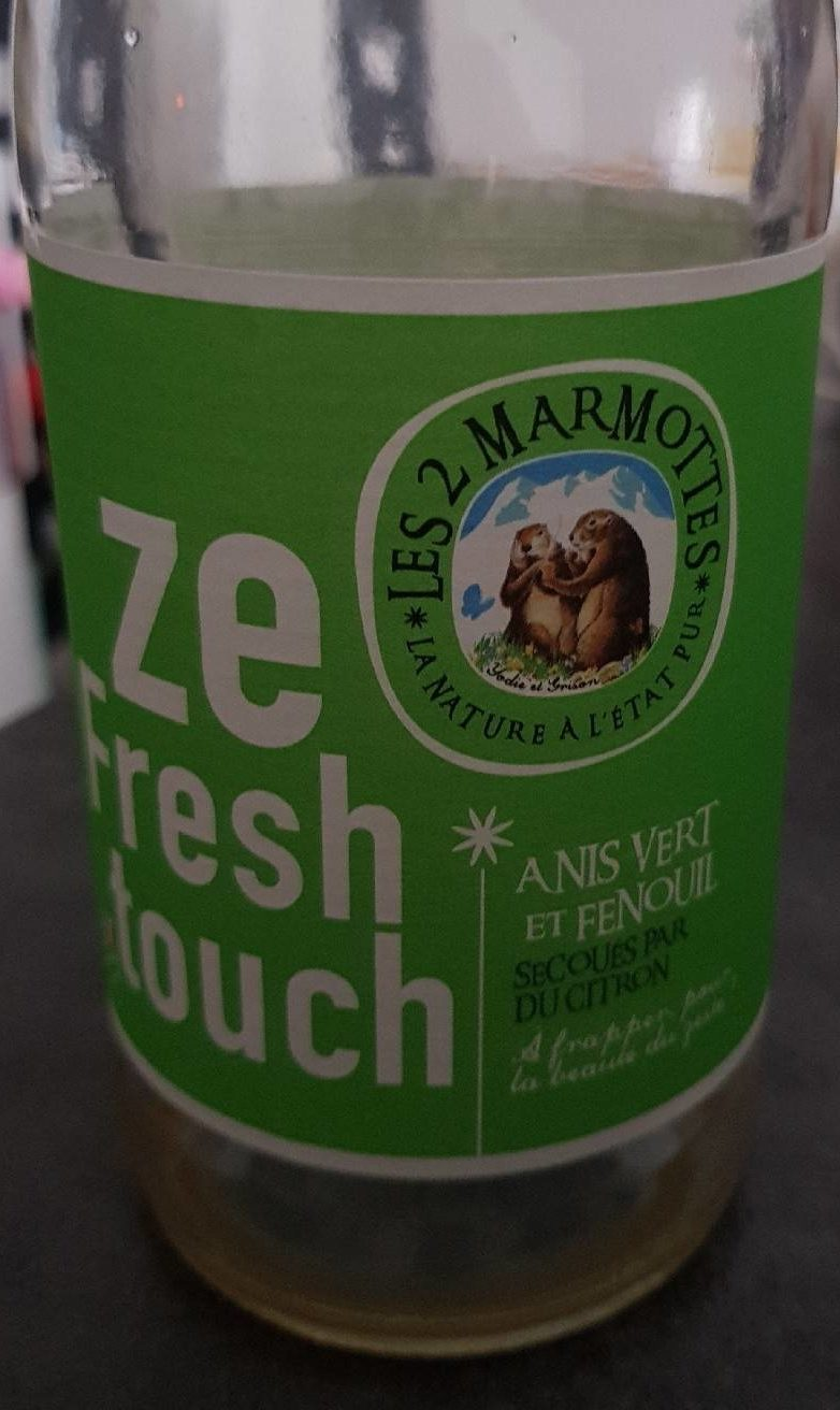 Ze fresh touch anis vert et fenouil - Prodotto - fr
