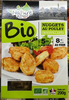 Nuggets au poulet croustillants bio - Product