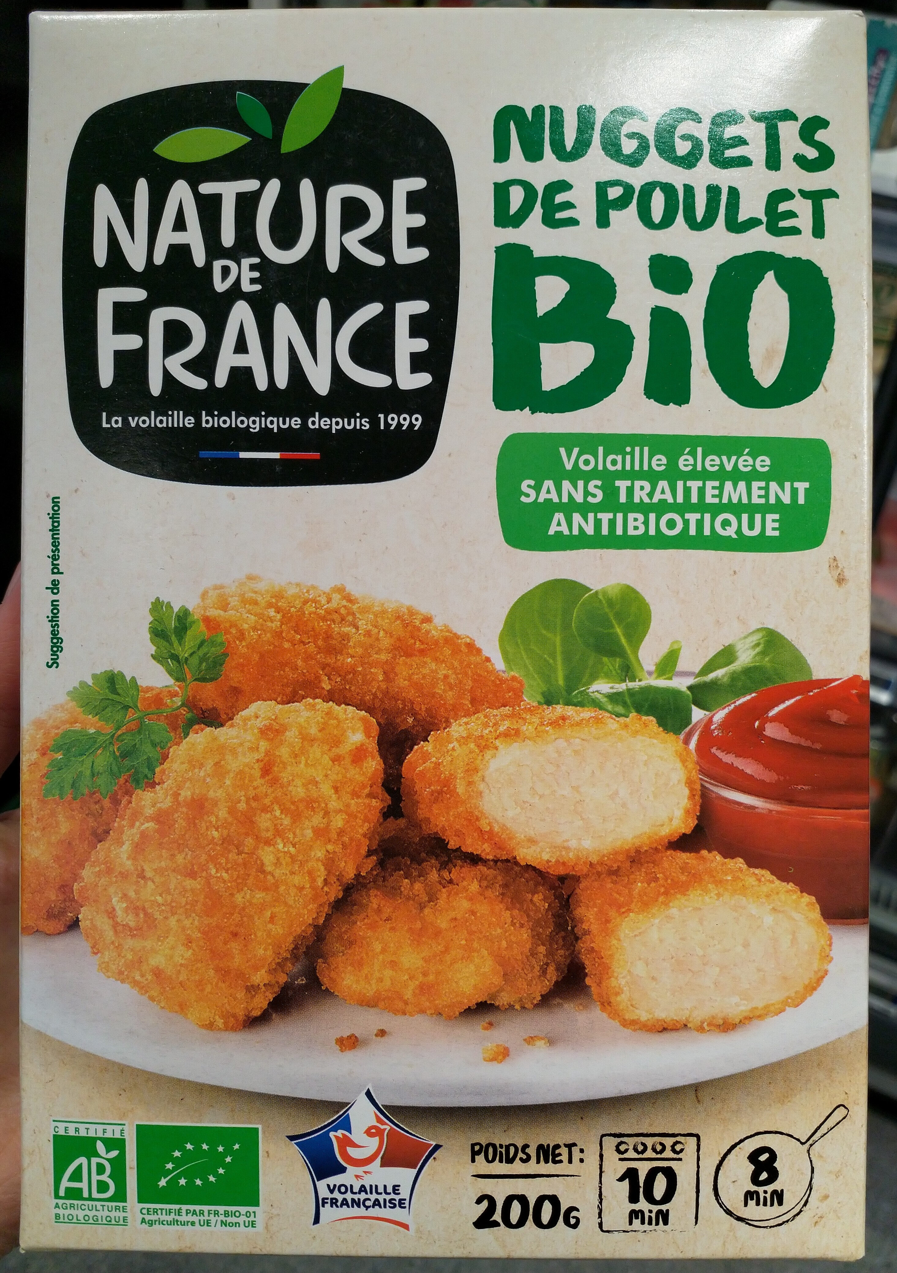 Nuggets au poulet bio - Product - fr
