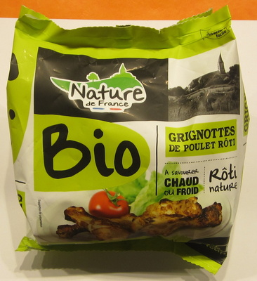 Grignottes de poulet rôti nature - Product - fr