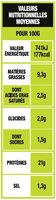 Grignottes de poulet rôti nature - Nutrition facts - fr