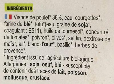 Croustillant de Poulet - Ingrédients - fr