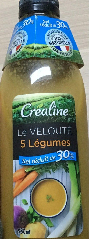 Le velouté 5 légumes - Produit - fr