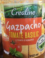 Gazpacho Tomate Basilic &  Pointe d'agrumes - Produit - fr