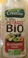 Mes potages Bio 6 Légumes - Produit - fr