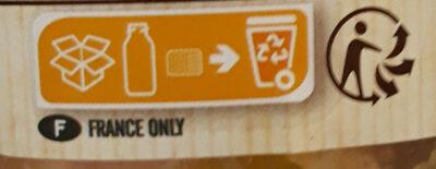 Mes potages Bio 6 Légumes - Instruction de recyclage et/ou informations d'emballage - fr