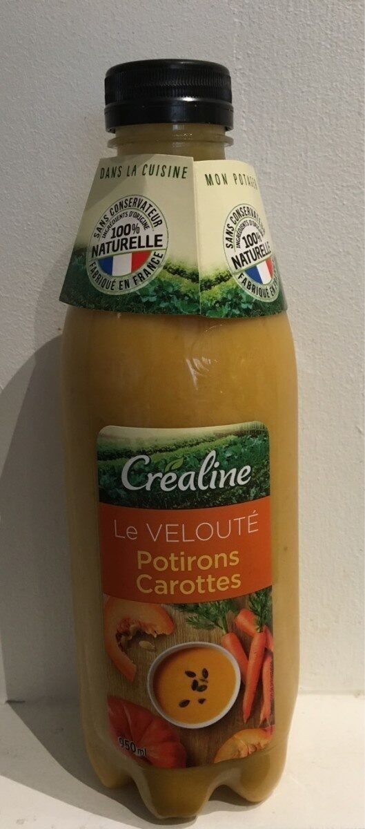 Le velouté potirons carottes - Producto - fr