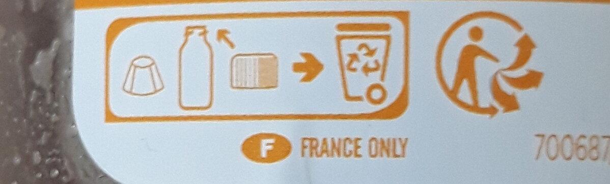 Le velouté potirons carottes - Instrucciones de reciclaje y/o información de embalaje - fr