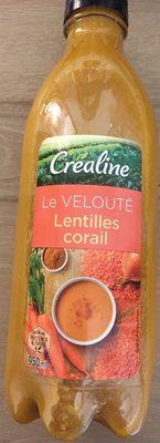 Velouté lentilles corail - Product - fr