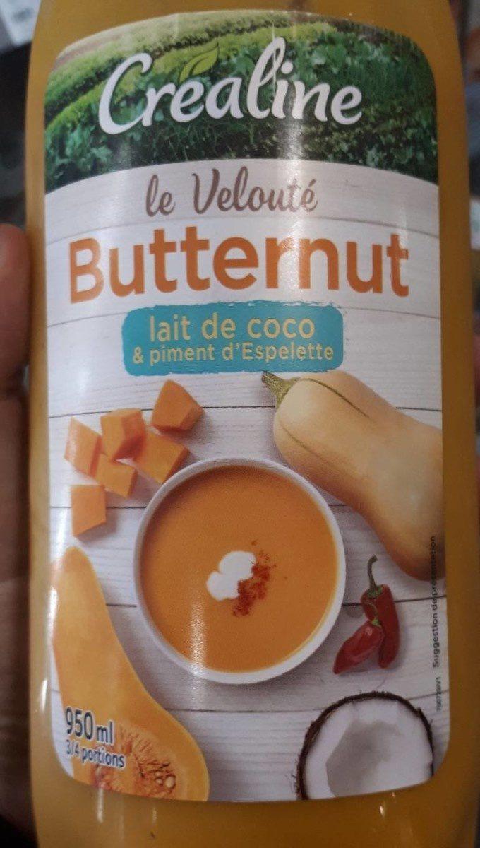 Velouté butternut au lait de coco et au piment d'Espelette - Produit - fr
