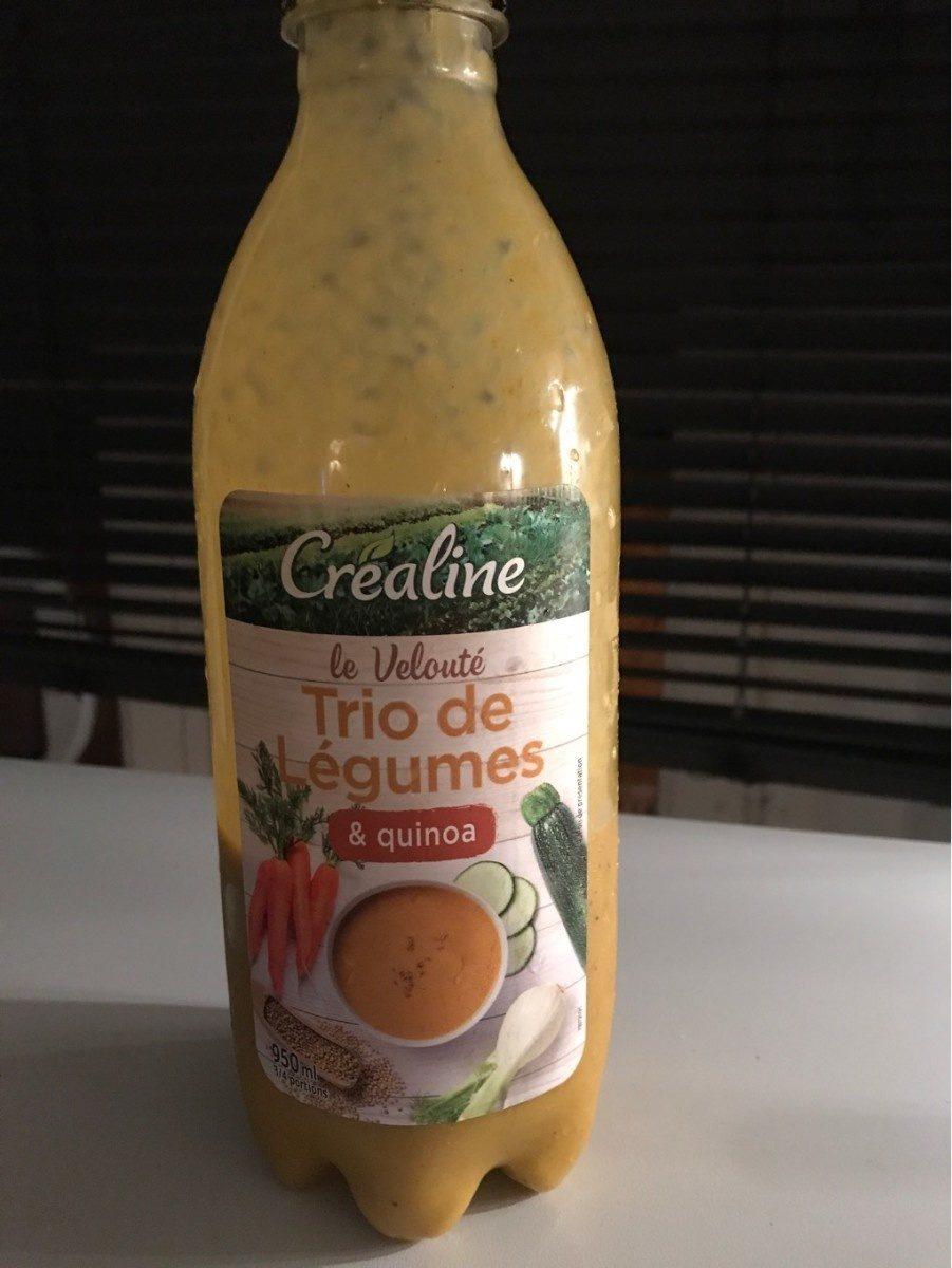 Velouté trio de legumes et quinoa - Produit - fr